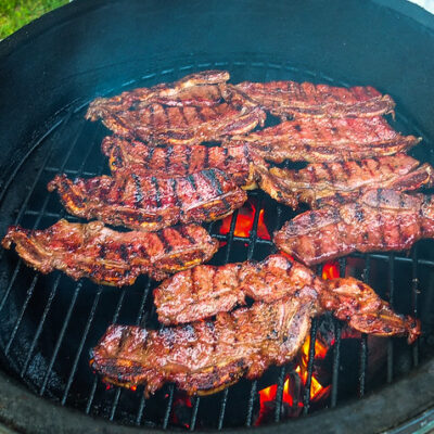 Korean-Style Grilled Short Ribs