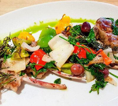 Lamb Chops Salad