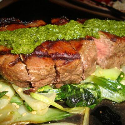 Parsley Pesto Steak