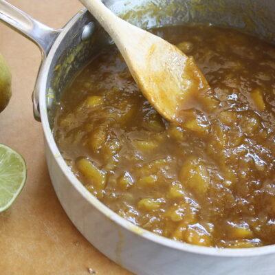 Piquant Mango sauce