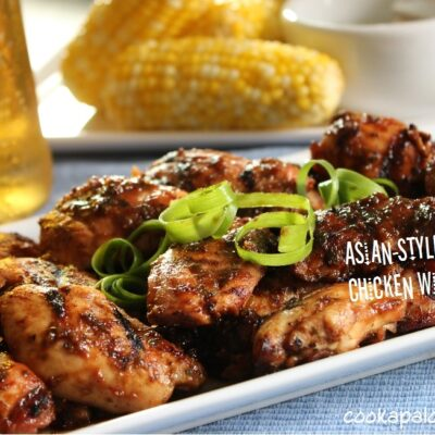 Asian spicy barbecued chicken