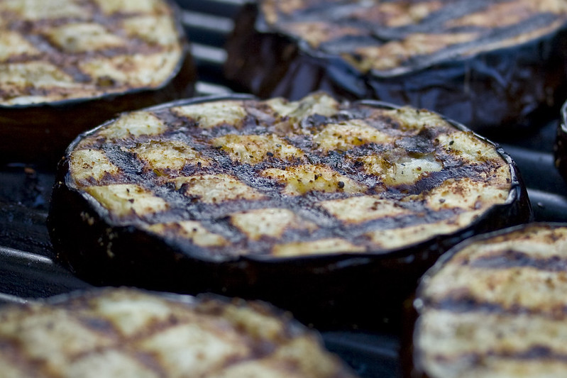 Grilled Asian Eggplant with Hoisin and Vodka