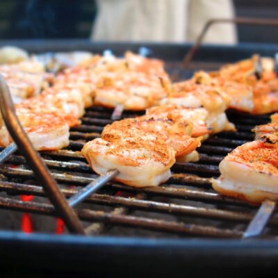 Grilled Shrimp with Tangy Dipping Sauce